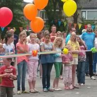 2014-07-11 Opening schoolplein Regenboog en slotfeest