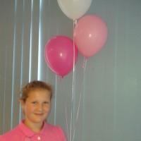 Latexballonnen met helium