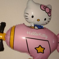 Hello Kitty vleigtuig