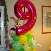 Versiering-voor-Hanna's-9e-verjaardag