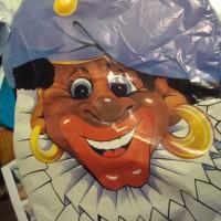 Zwarte-Piet- Folieballon
