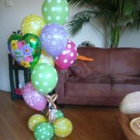 Paasboeket van ballonnen