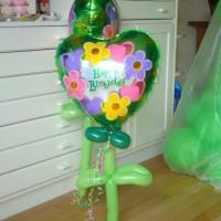 Verjaardags bloem